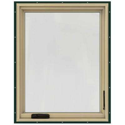 36.75 in. x 40.75 in. W-2500 Right-Hand Casement Wood Window