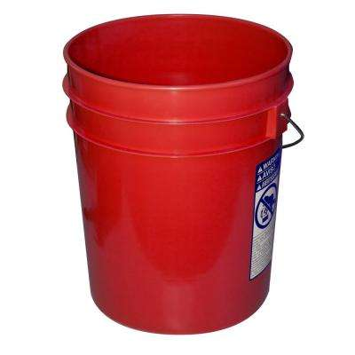 5 gal. Red Pail