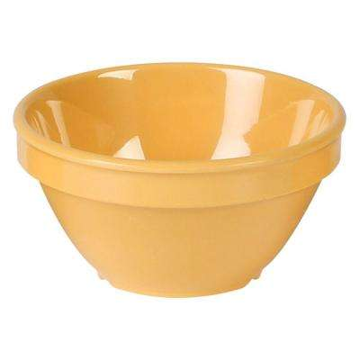 Coleur 8 oz., 4-1/4 in. Bouillon Cup in Yellow (12-Piece)