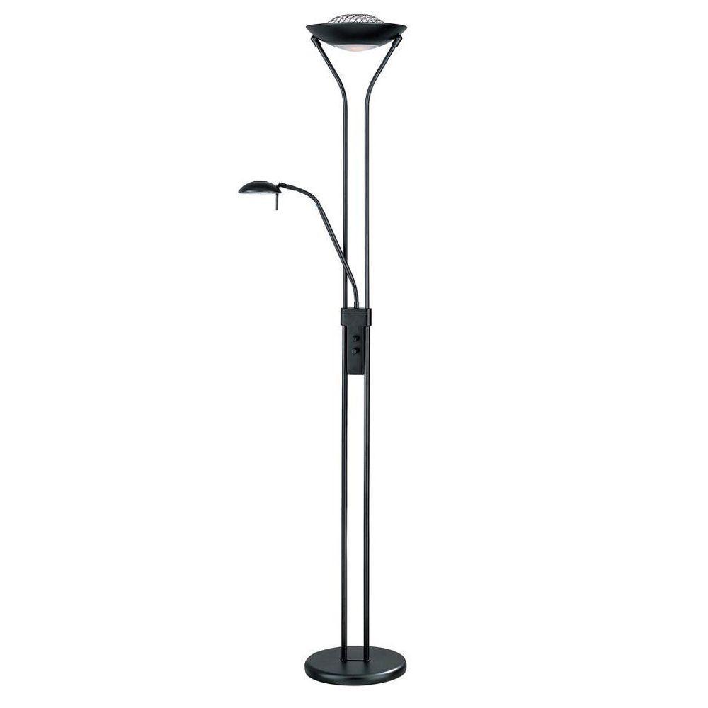 Illumine Designer Collection 71 in. Black Floor Lamp