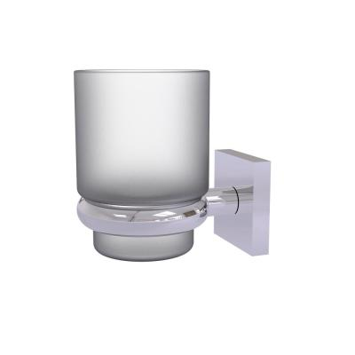 Montero Collection Wall Mounted Tumbler Holder in Polished Chrome