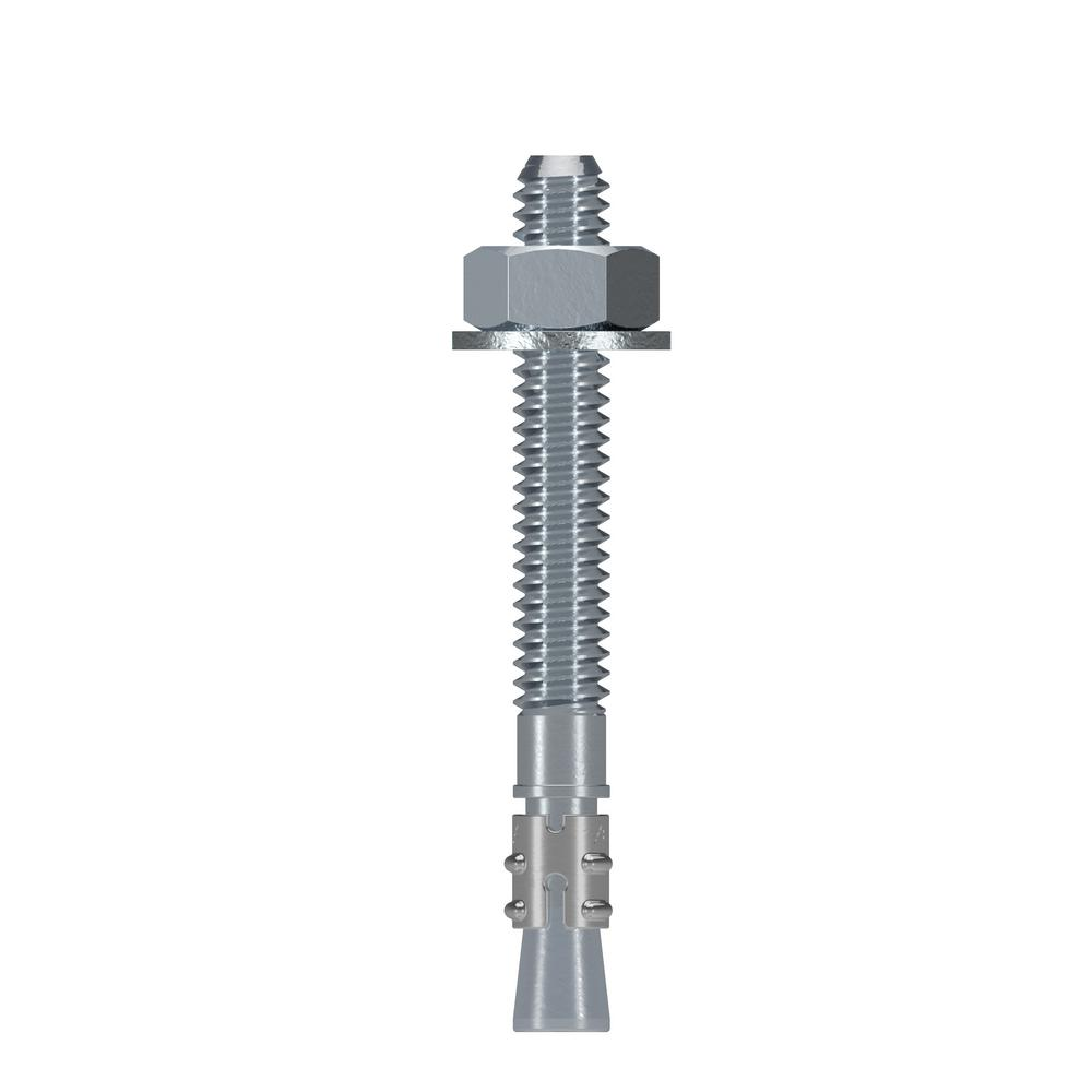 Simpson Strong-Tie Strong-Bolt 1/4 in. x 2-1/4 in. Zinc-Plated Wedge Anchor
