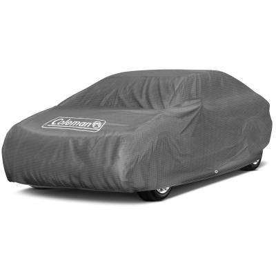 Spun-Bond PolyPro 85 GSM 210 in. x 70 in. x 46 in. Superiour Gray Full Car Cover
