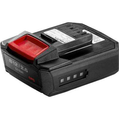12-Volt 2.6 Ah Lithium-Ion Battery Pack