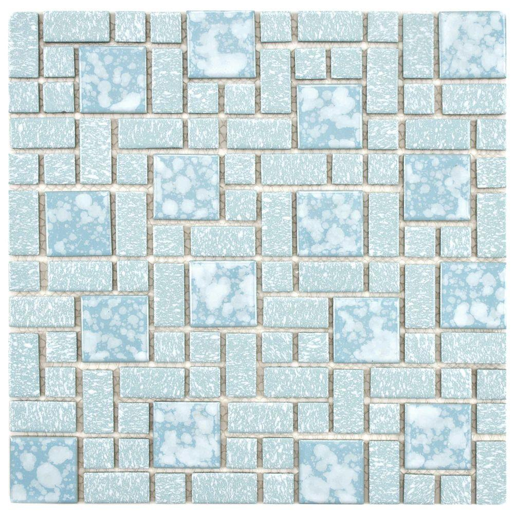 Merola Tile University Blue 11 3 4 In X 11 3 4 In X 5 Mm