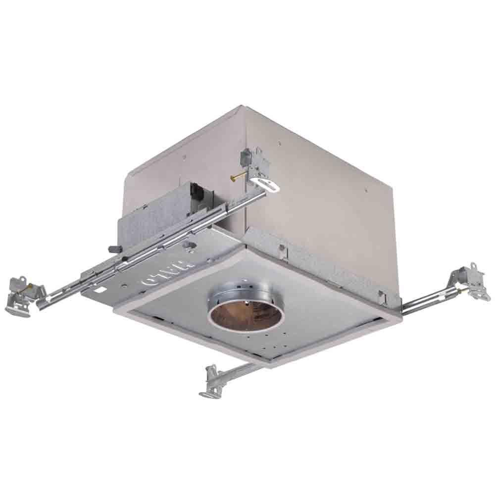 Halo H38 3 in. Aluminum Recessed Lighting Housing for New Construction Ceiling, Low-Voltage, Insulation Contact, Air-Tite