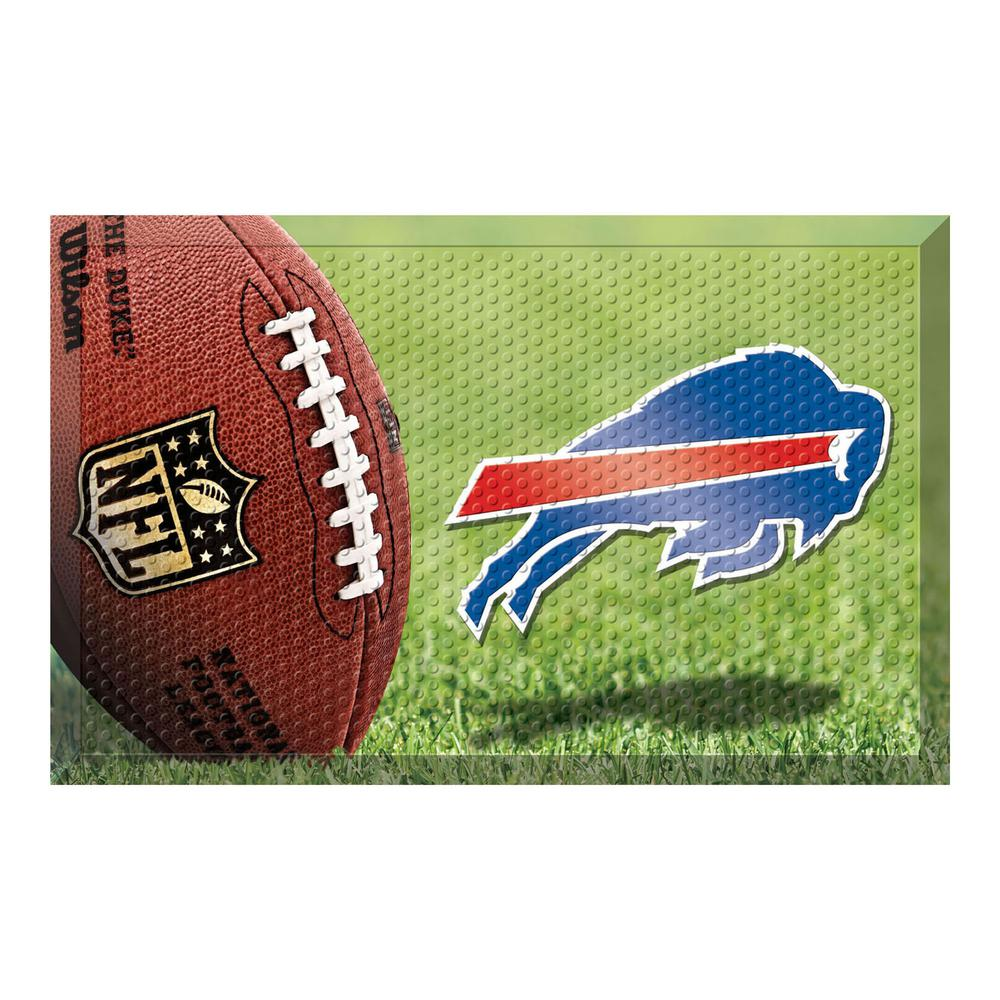 d7bf248a10504 NFL - Buffalo Bills 19 in. x 30 in. Indoor Outdoor Scraper Mat Door Mat