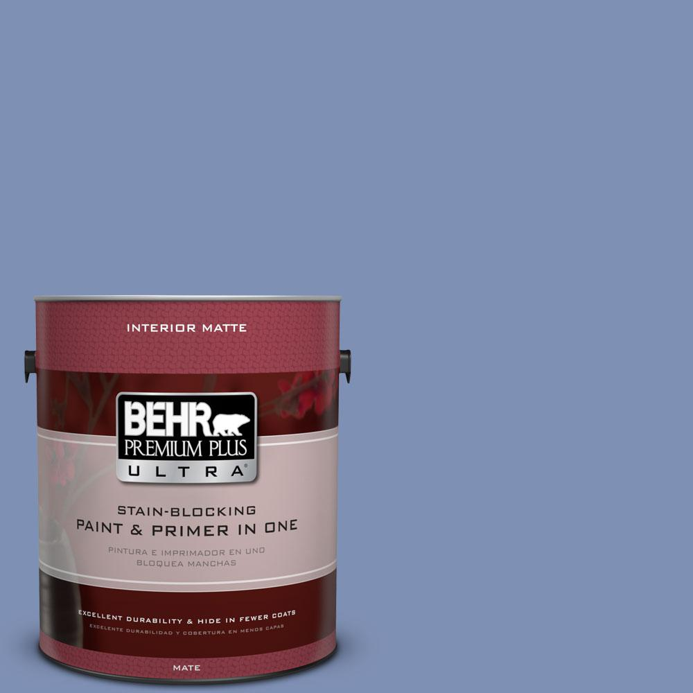 1 gal. #600D-5 Babbling Brook Flat/Matte Interior Paint