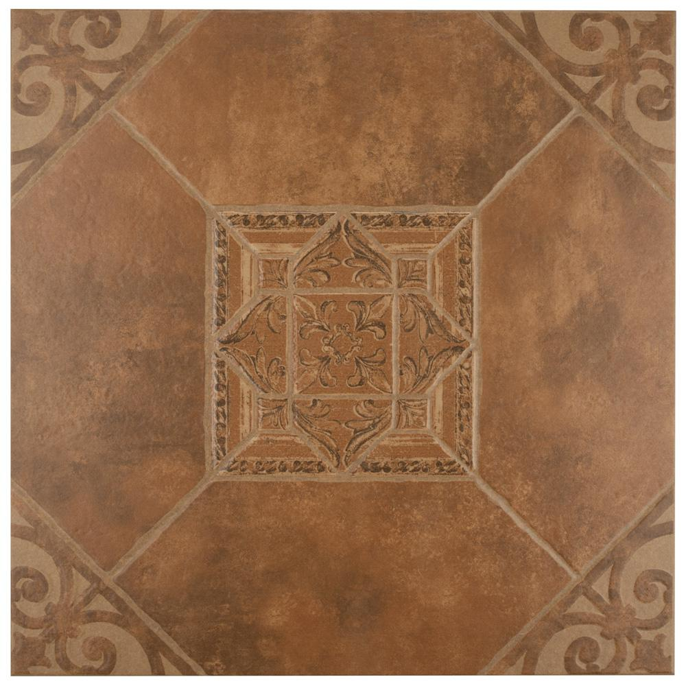 Manises Teja 17-5/8 in. x 17-5/8 in. Ceramic Floor and Wall Tile (15.53 sq. ft. / case)