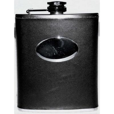 6 oz. Flask with Pu Wrap