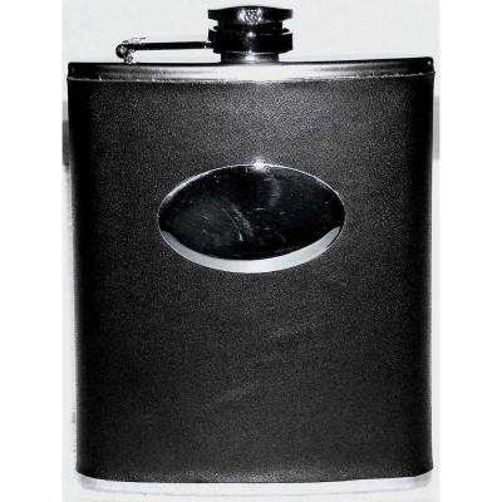 6 oz. Flask with Pu Wrap