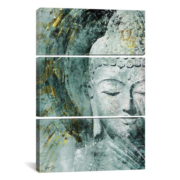 Brilliant Buddha Front By Eric Yang Canvas Wall Art Home Interior And Landscaping Eliaenasavecom