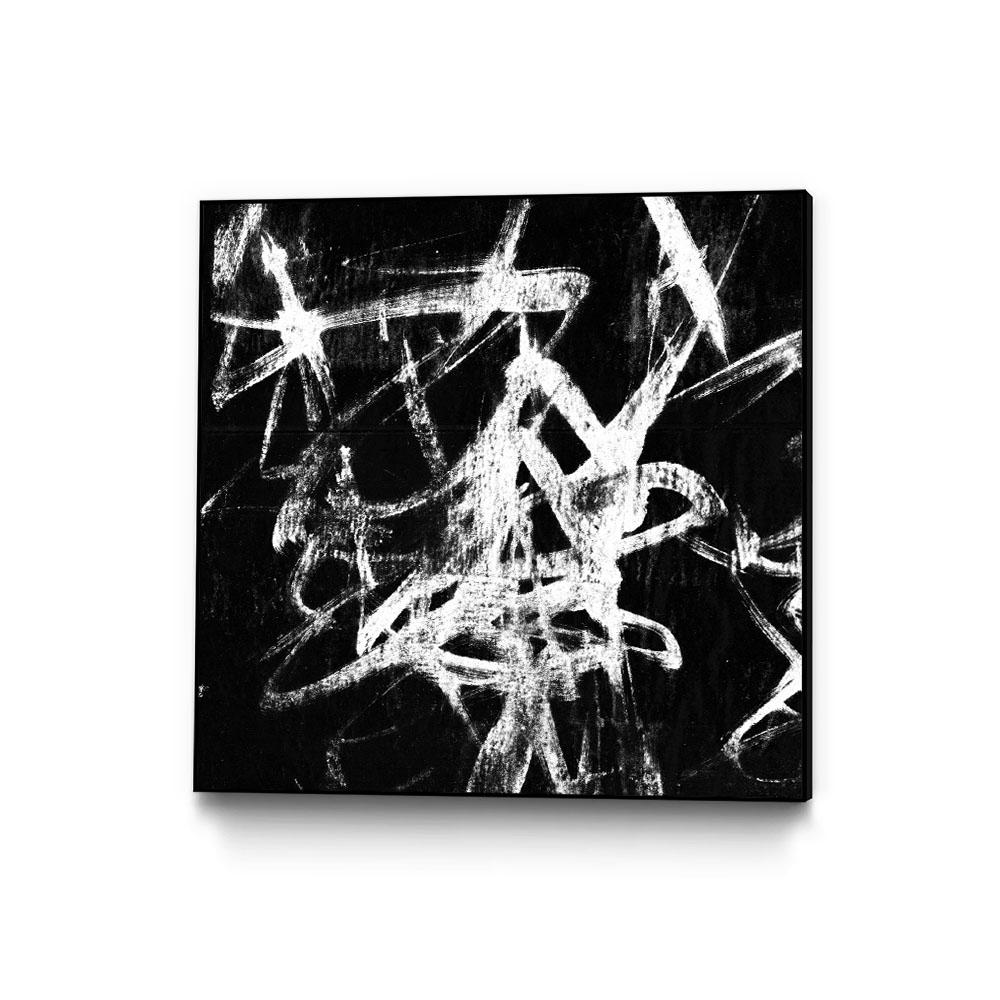 20 In X 20 In Monotype Scribble Iii By Jennifer Goldberger Framed Wall Art Wag149858 2020cf The Home Depot