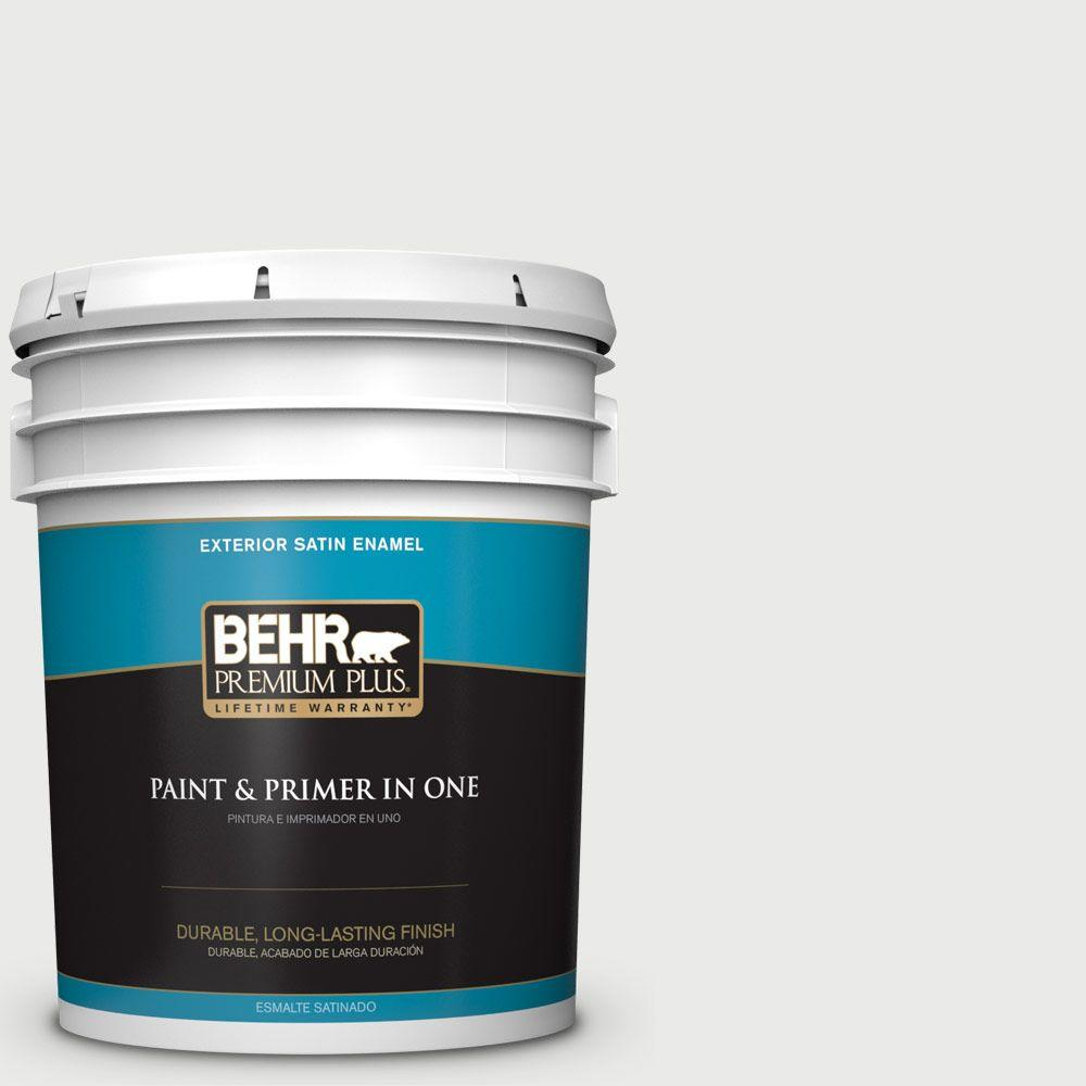 5-gal. #780E-2 Full Moon Satin Enamel Exterior Paint