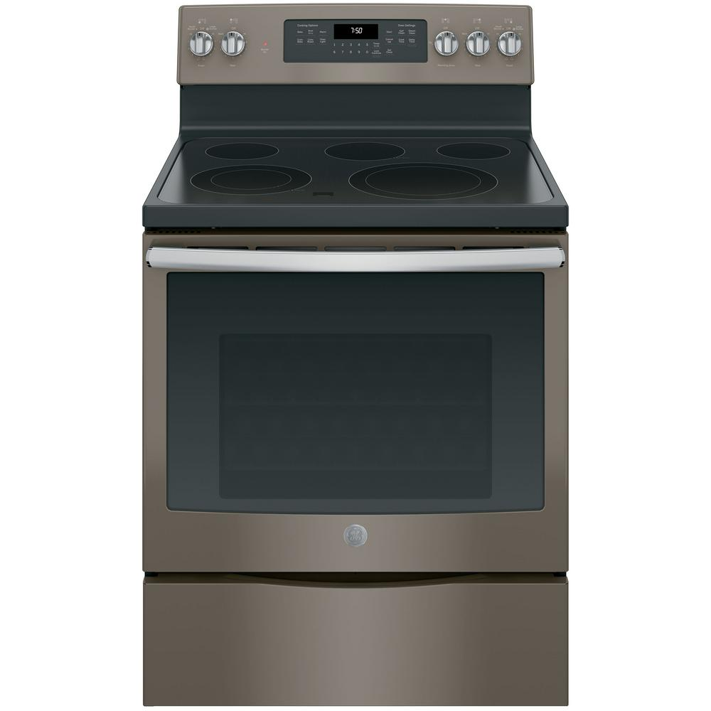 Ge 5 3 Cu Ft Electric Range With Self
