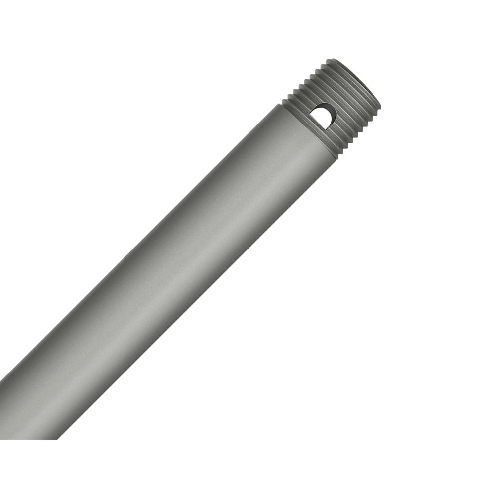 12 in. Matte Silver Extension Downrod