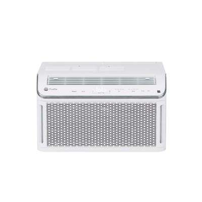 Profile 6,150 BTU 115-Volt Smart Window Room Air Conditioner with Wi-Fi and Remote in White, ENERGY STAR