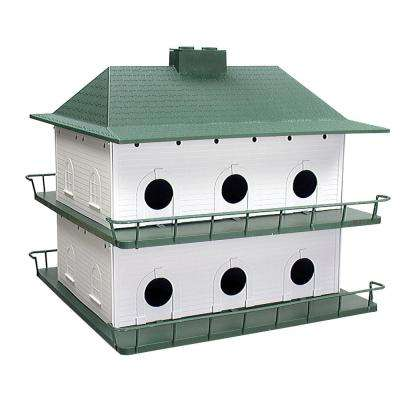 Plastic 12-Room Purple Martin House