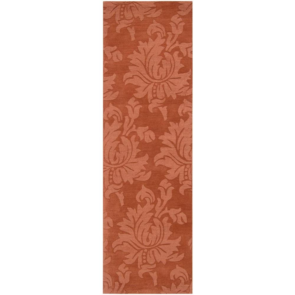Artistic Weavers Eustis Rust (Red) 3 ft. x 8 ft. Indoor R...