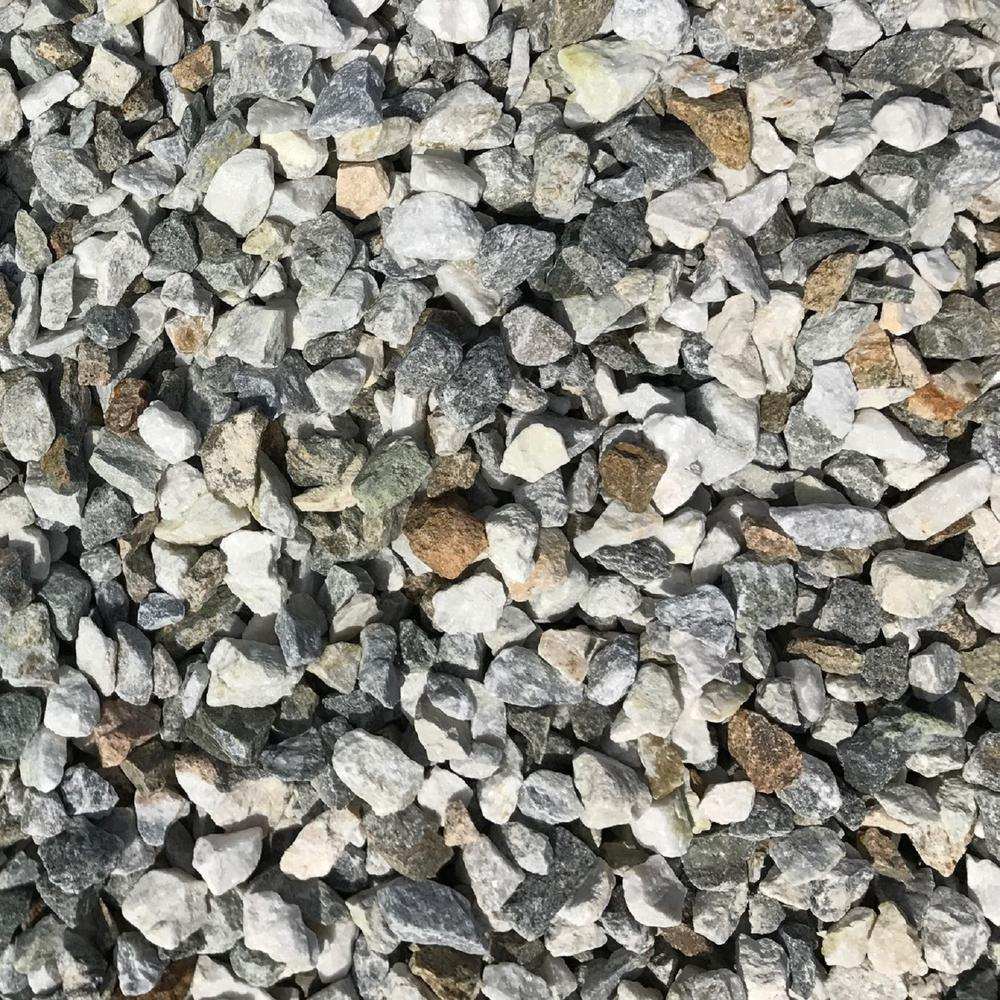 0.50 cu. ft. 40 lb. 3/4 in. Smokey Mountain Quartz Decorative
