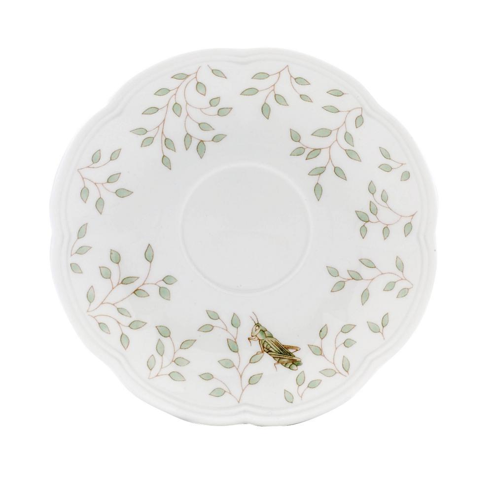 Butterfly Meadow Porcelain Multi Color Tea Saucer