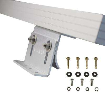Solar Panel Mounting Curved Z-Bracket (Set of 4)