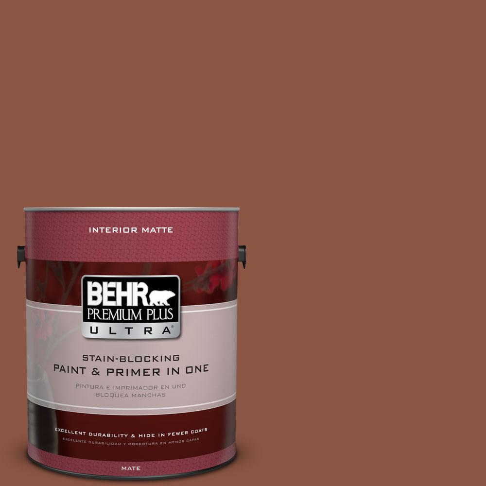 1 gal. #S180-7 True Copper Matte Interior Paint