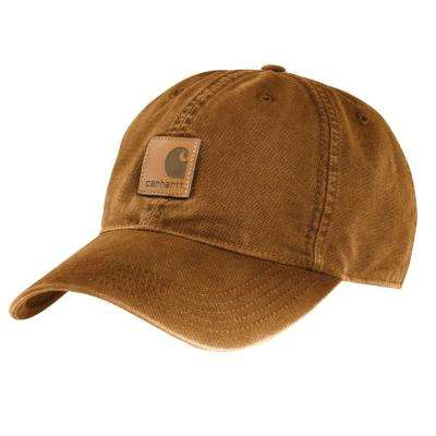 Men's OFA Brown Cotton Cap Headwear