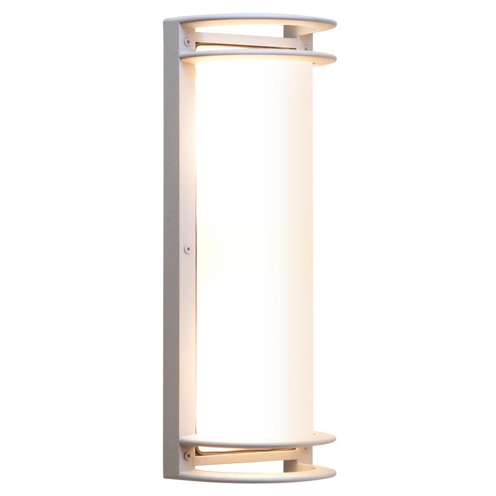 Access Lighting Nevis Large 1-Light Satin LED Outdoor Wall Mount Sconce