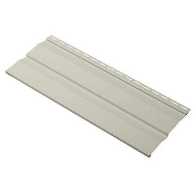 Evolutions Double 4.5 in. x 24 in. Dutch Lap Vinyl Siding Sample in Olive