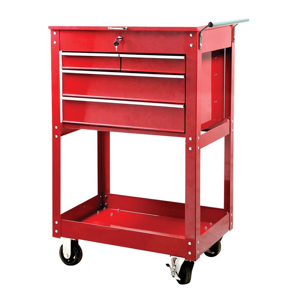 Great Neck Saw 4 Drawer Service Cart