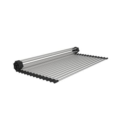 15 in. x 20 in. Stainless Steel Roll Up Sink Grid