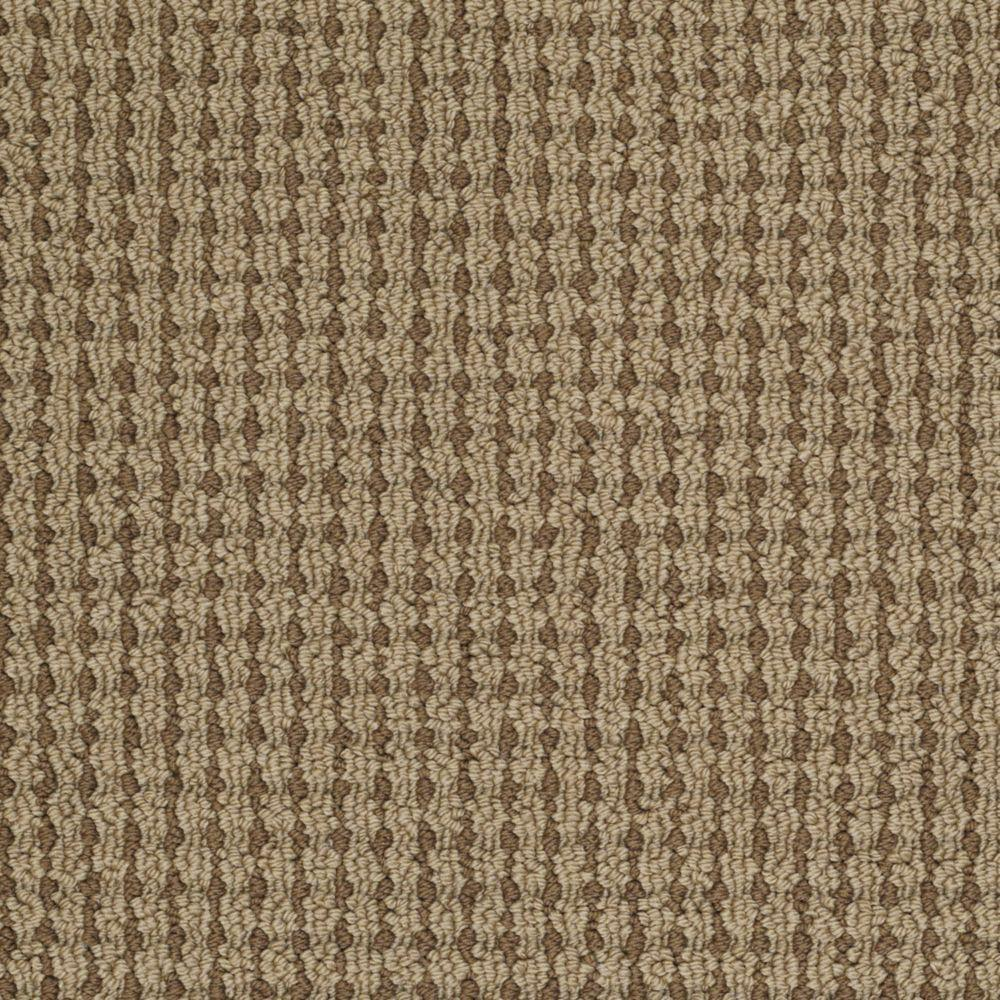 Martha Stewart Living Gloucester Hill - Color Clove 6 in. x 9 in. Take Home Carpet Sample