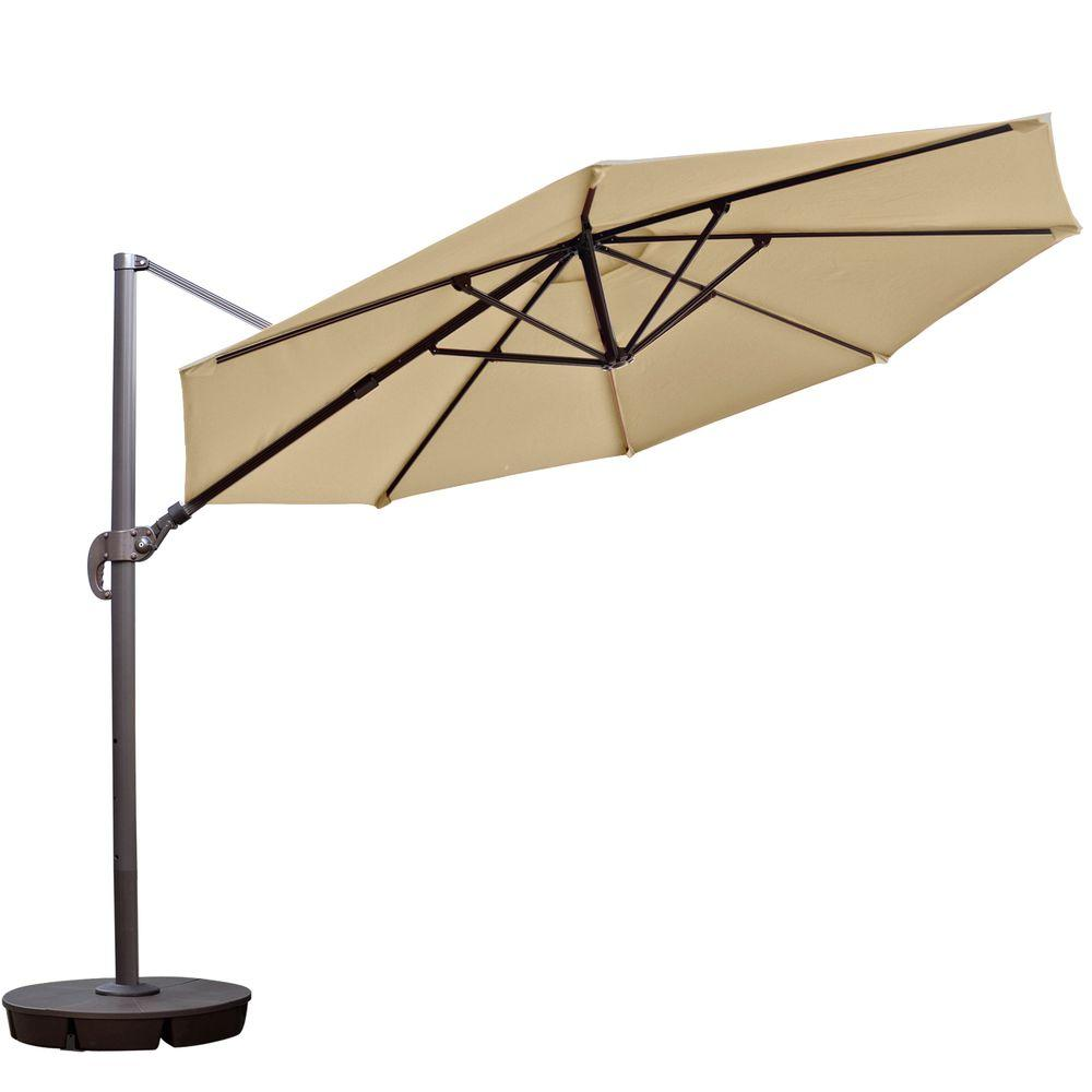 Island Umbrella Freeport 11 Ft Octagon Cantilever Patio
