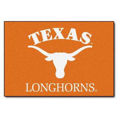 University of Texas 19 in. x 30 in. Accent Rug