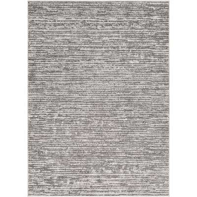 Havana Charcoal/Grey 5 ft. 3 in. x 7 ft. 3 in. Solid Area Rug