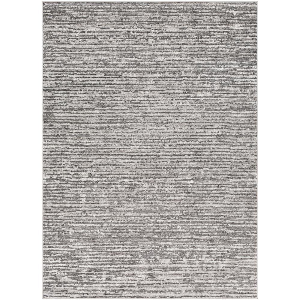 Havana Charcoal/Grey 7 ft. 10 in. x 10 ft. 3 in. Solid Area Rug