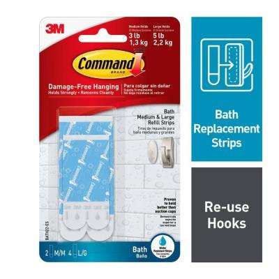 Assorted Water Resistant Refill Strips