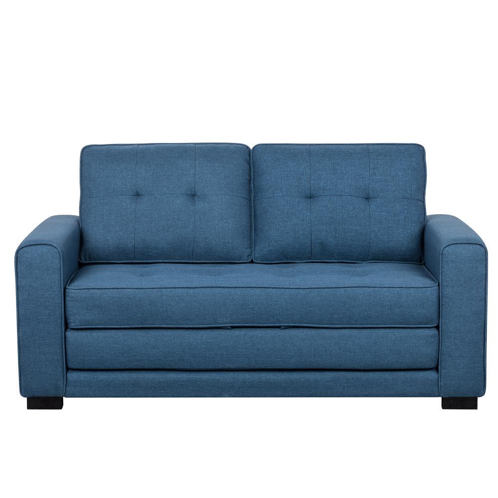 Bray Twin Ocean Blue Loveseat Bed S5332