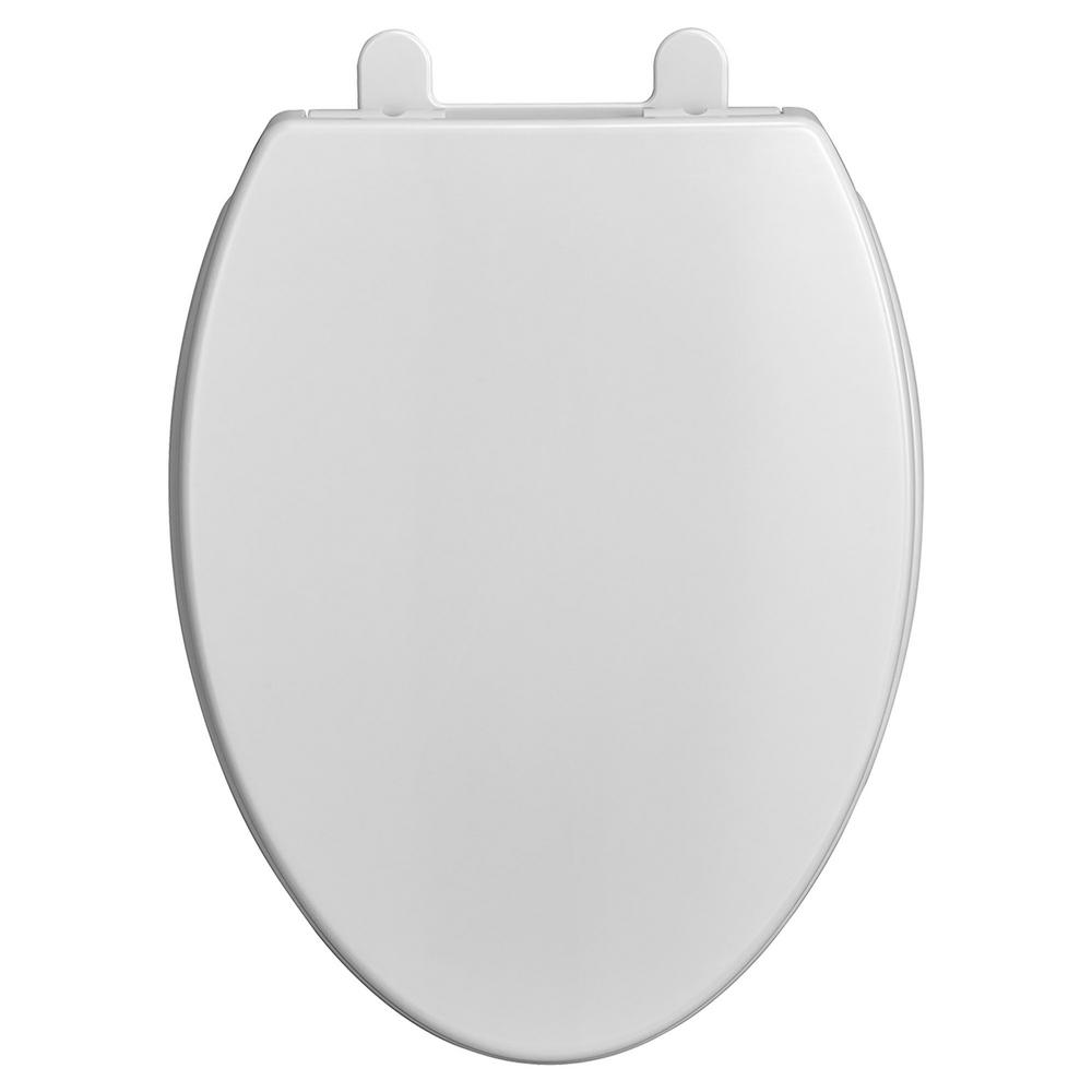 Remarkable American Standard Transitional Slow Close Everclean Elongated Closed Front Toilet Seat In White Inzonedesignstudio Interior Chair Design Inzonedesignstudiocom