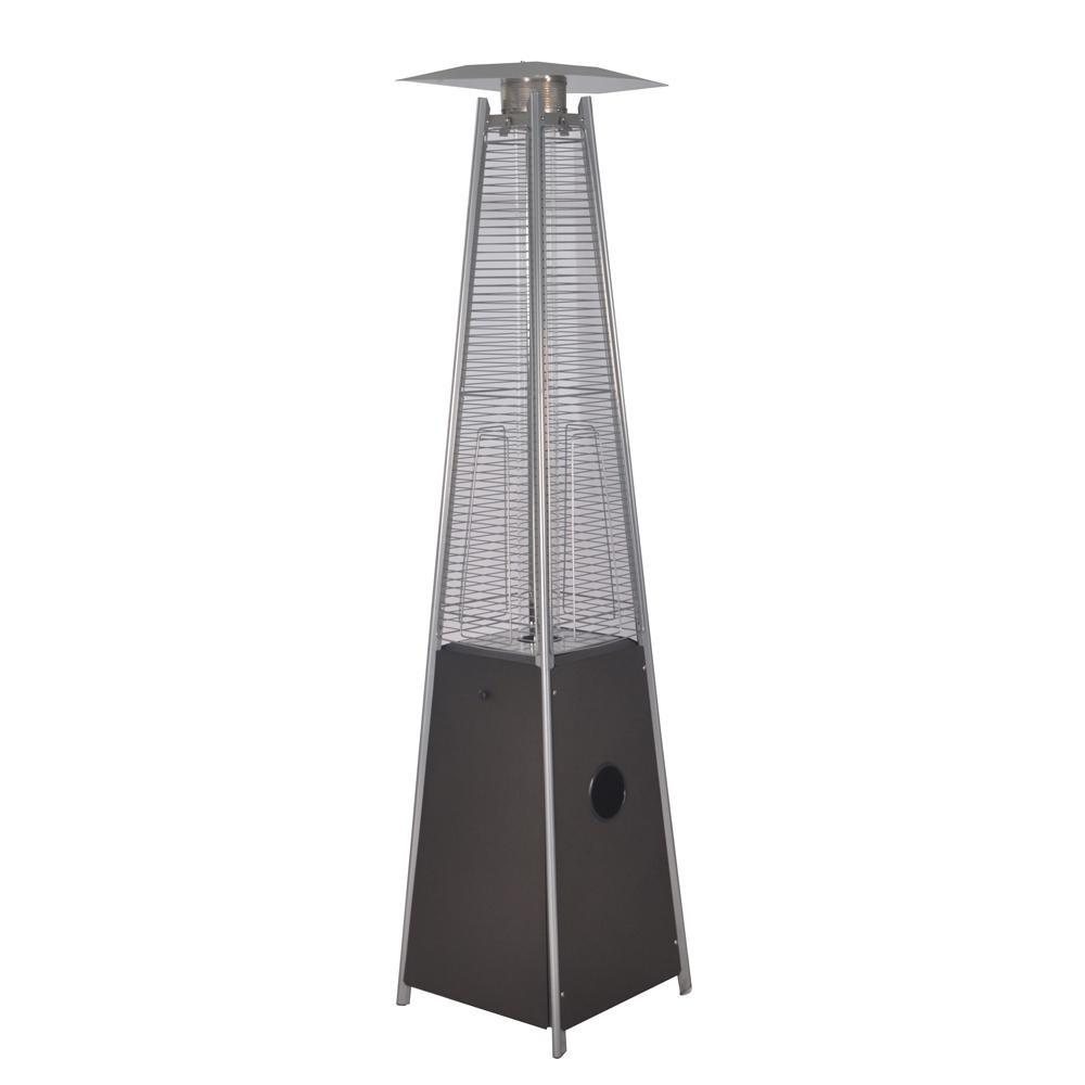 Legacy Heating 40 000 Btu Mocha Quartz Glass Tube Patio Flame Heater