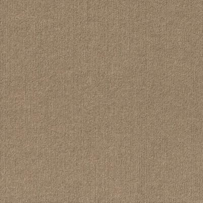 Contender Single Rib Taupe 24 in. x 24 in. Commercial Peel and Stick Carpet Tiles (15 Tiles/Case)