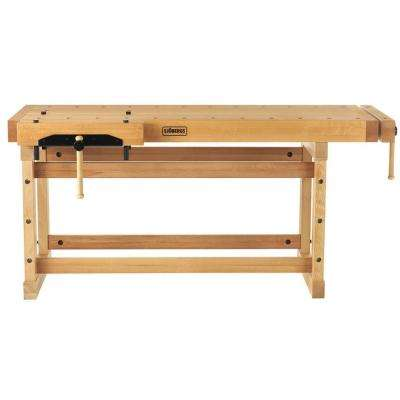 Elite 76 in. Beech Workbench