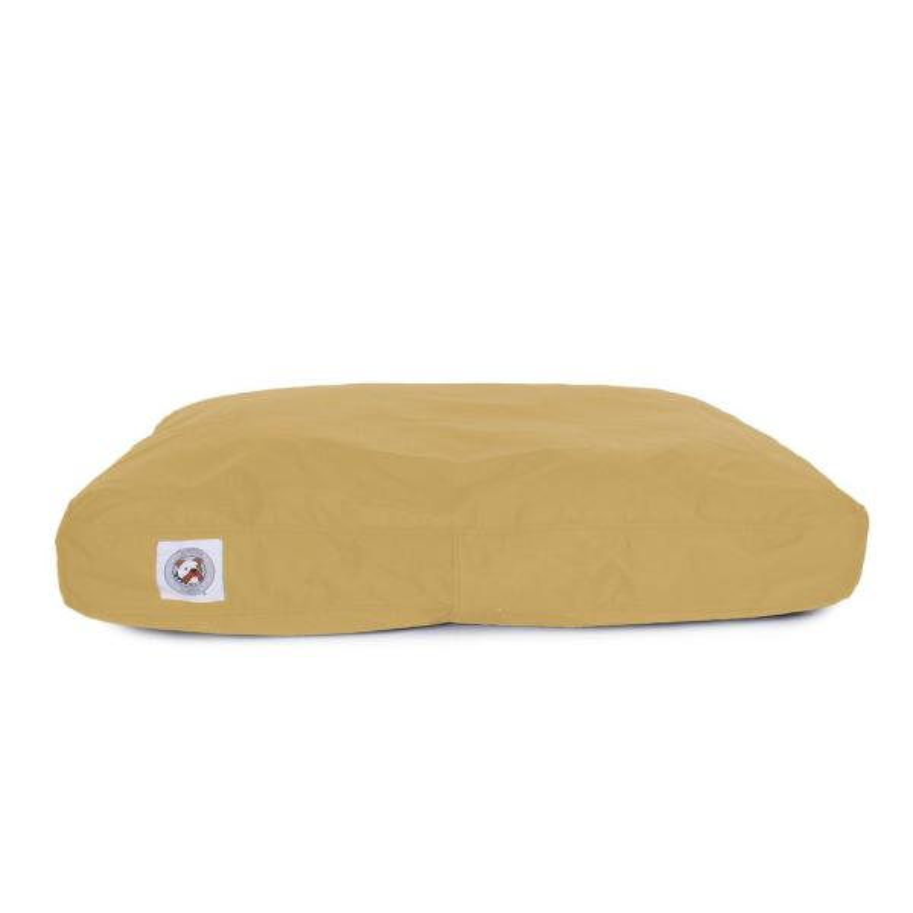 Large Tan Brutus Tough Chew Resistant Pet Bed