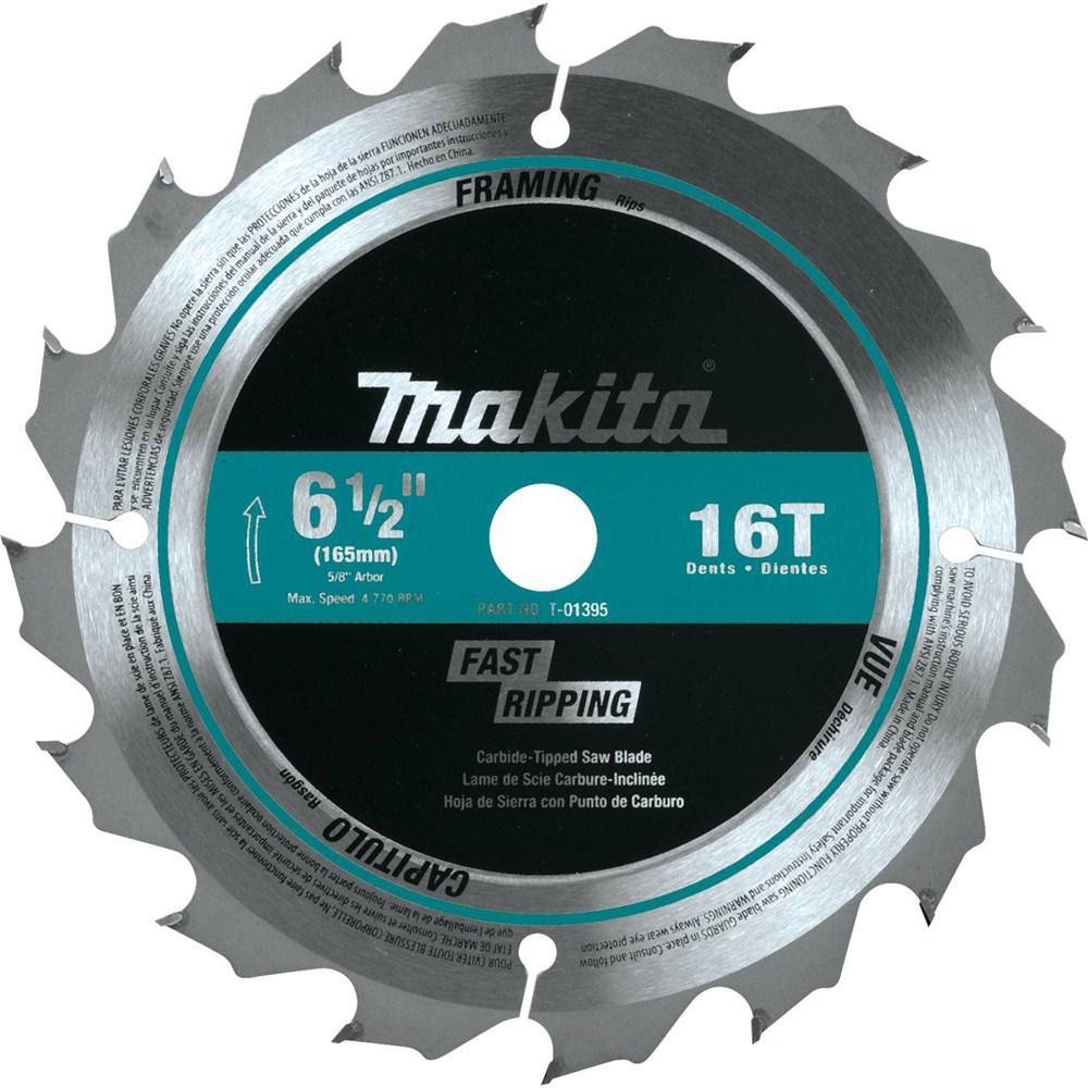 6-1/2 in. 16T Carbide-Tipped Circular Saw Blade