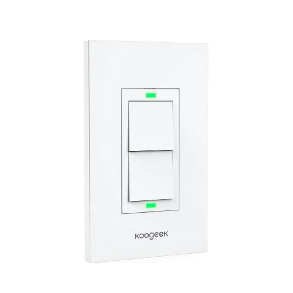 Koogeek Smart Wi Fi Light Switch For Apple Homekit With