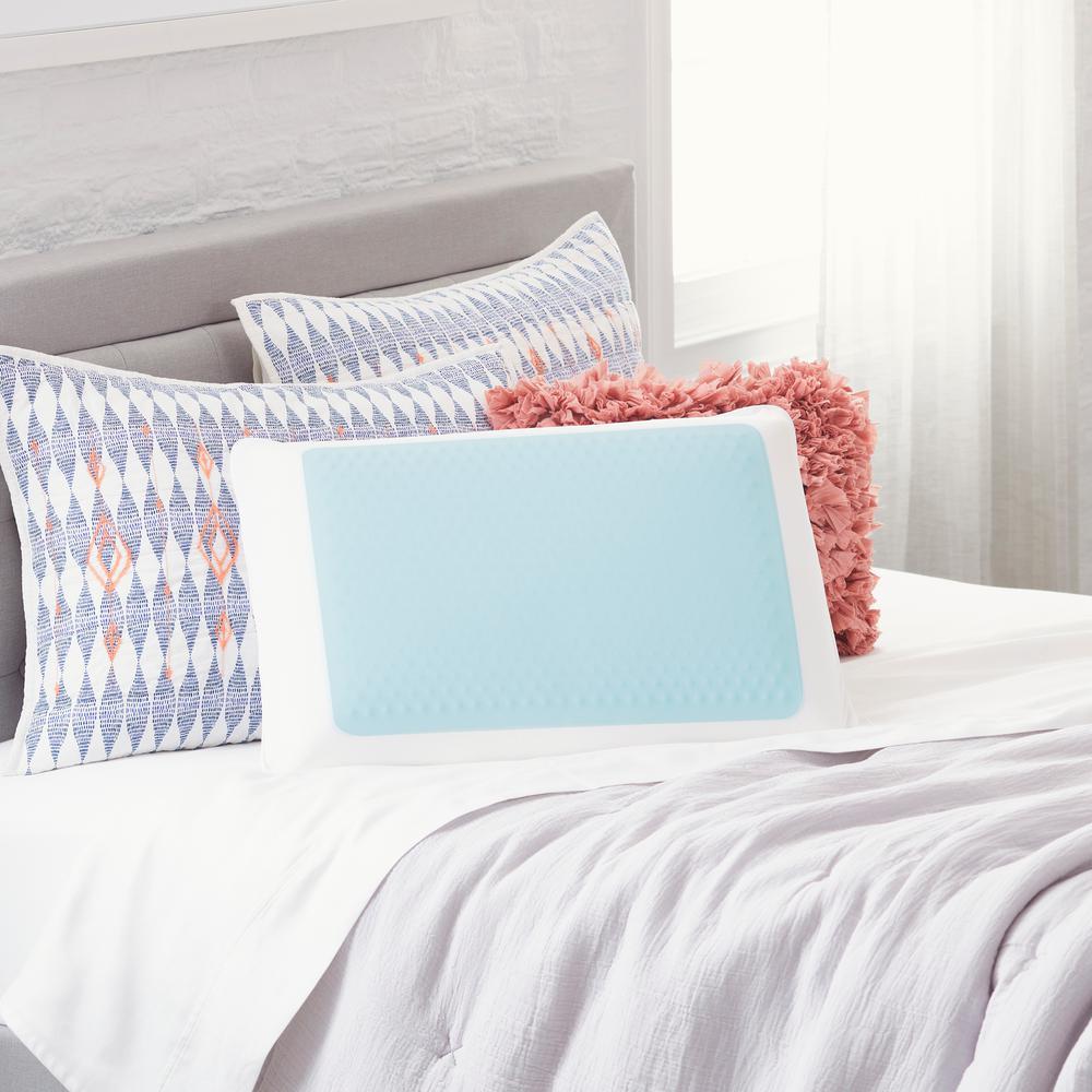 Cooling Gel Memory Foam Standard Pillow