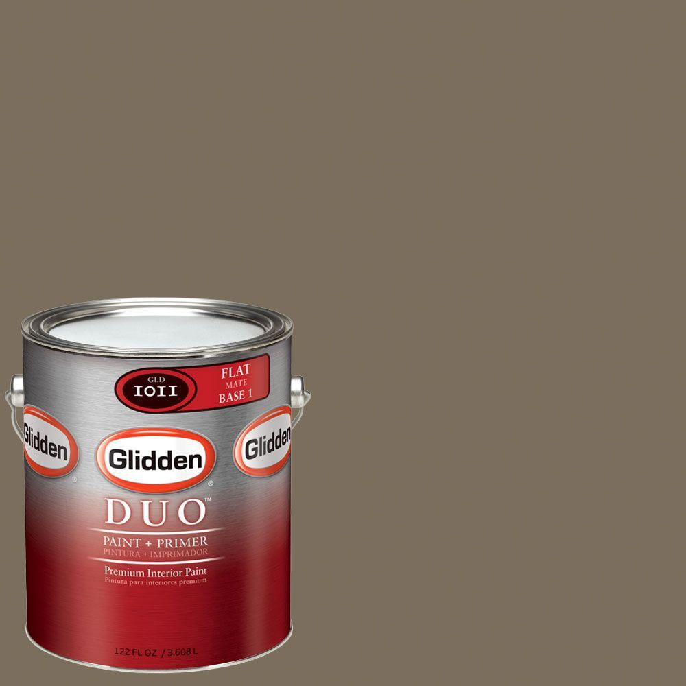 Glidden DUO Martha Stewart Living 1-gal. #MSL097-01F Flower Flat Interior Paint with Primer - DISCONTINUED