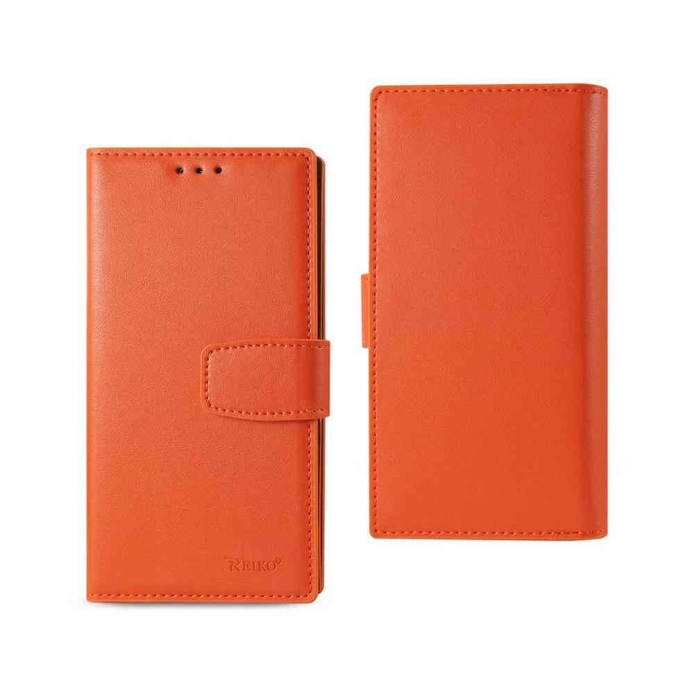 Galaxy S7 Genuine Leather Design Case in Tangerine