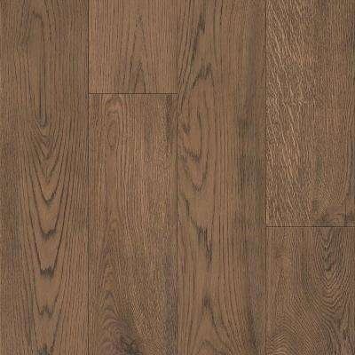 American Home Nostalgic Russet 6.5 in. x 48 in. Glue Down Luxury Vinyl Plank (34.66 sq. ft. / case)